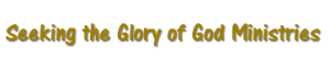Seeking the Glory of God Logo